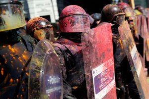 Barselonoje – policijos ir separatistų susirėmimai