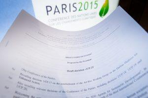 Pagrindiniai Paryžiaus klimato sutarties aspektai