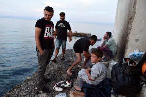 Graikijos migrantų stovykloje pakistanietis tapo grupinio išžaginimo auka