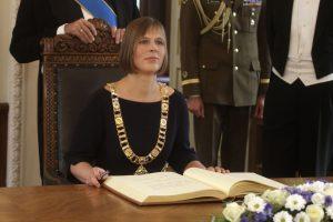 Estijos prezidentė pirmu vizitu aplankys Suomiją ir Latviją