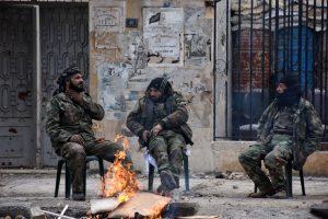 Sirijos sukilėliai stabdo taikos derybas