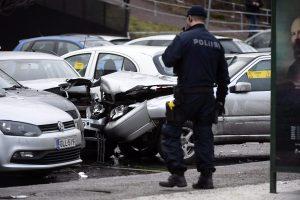 Helsinkyje automobilis rėžėsi į žmones, keturi sužeisti