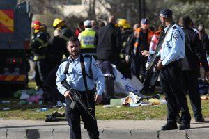 Jeruzalėje nukautas pasieniečius užpuolęs palestinietis