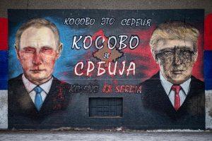 V. Putinas ir D. Trumpas kalbėsis telefonu