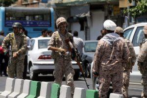 Po atakų Teherane nukauti keli įtariami džihadistai