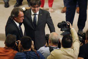 Katalonija meta Ispanijai savo nepriklausomybės iššūkį