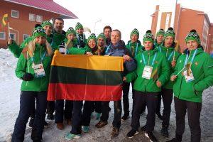 Lietuvos ambasadorius Turkijoje pasveikino jaunimo rinktinę