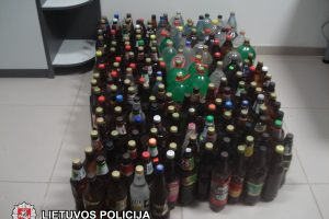 Šeimyninis barnis demaskavo nelegalų alkoholį