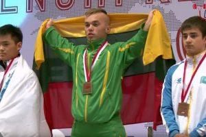 E. Valčiukui – pasaulio neįgaliųjų čempionato auksas, E. Matakui – bronza