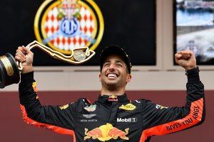 "Monako ""Grand Prix"" taurė – australo D. Ricciardo rankose"