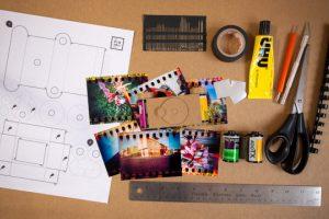 Kūrybinių dirbtuvių metu – galimybė pasigaminti fotoaparatą