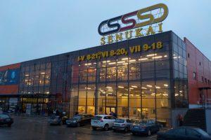 """Atnaujinimui ruošiamas pirmasis sostinės """"Senukų"""" prekybos centras"""