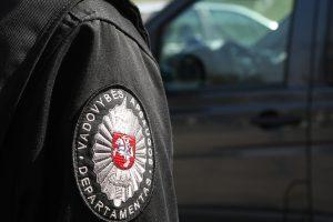 Švenčionėliuose sulaikytas girtas inspektorius