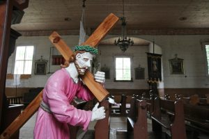 Policija pradėjo tyrimą dėl bažnyčioje nusišlapinusio vyro