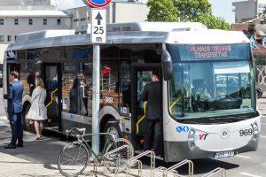 Kelionės sostinės viešuoju transportu taps malonesnės?