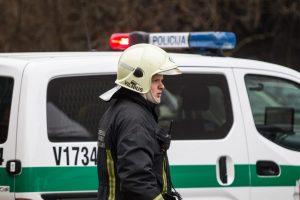 Vilniuje prie įvažiavimo į namą – daugiau nei šimtas minų