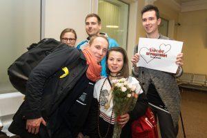 """Į Lietuvą be bagažo grįžę """"Fusedmarc"""": Kijevas nenori mūsų paleisti"""