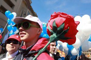 Lietuvoje Tarptautinė darbo diena minima nebuvo