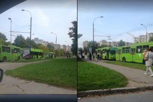 Dalyje Kauno dingusi elektra trikdė eismą: neveikė šviesoforai, stojo troleibusai