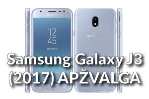 """Naujasis """"Samsung Galaxy J3"""": kodėl verta turėti?"""