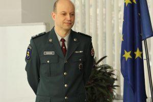 Laikinasis Vilniaus apskrities policijos viršininko pavaduotojas – M. Puskunigis