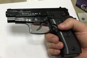 Radviliškio rajone rastas neteisėtai laikomas pistoletas