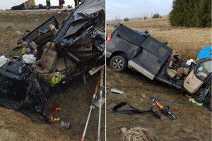 Aiškėja, kas galėjo sukelti tragišką avariją Ukmergės rajone
