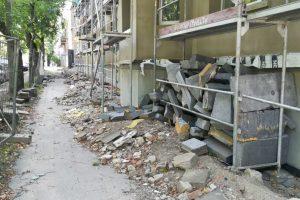 Nelaimė darbe: nukritęs nuo pastolių žuvo jaunas vyras