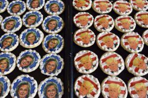 JAV prezidento rinkimų sausainiai: palaiko ar nori nukąsti galvą?