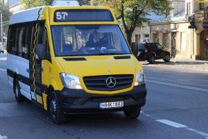 Maršrutinį autobusą kliudęs vairuotojas iš įvykio pabėgo