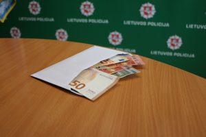 Gal jūs Šilainiuose pametėte 1 tūkst. eurų?