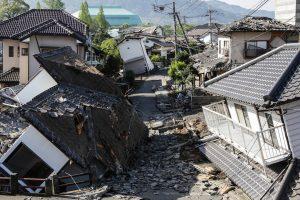 Japoniją supurtė stiprus žemės drebėjimas: sužeisti septyni žmonės
