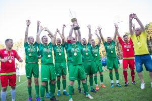 Lietuva pirmą kartą tapo Baltijos mažojo futbolo čempione
