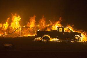 Kalifornijoje gaisrų aukų padaugėjo iki 59, dar 130 žmonių ieškoma