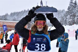 Snieglentininkas M. Morauskas – jaunimo olimpinio festivalio vicečempionas