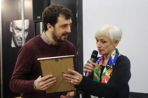 Poetui M. Nastaravičiui įteikta J. Ivanauskaitės premija