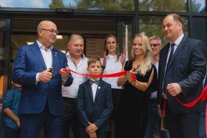 Kauno meras per naujos mokyklos Romainiuose atidarymą: nesiruošiame sustoti