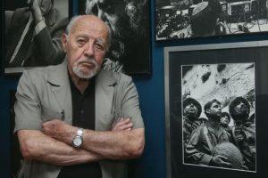 Mirė legendinis Izraelio fotografas D. Rubingeris