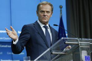 ES vadovas: prekybos sutartis su Kanada dar gali būti pasirašyta