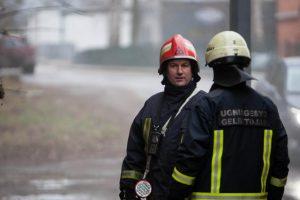 Po gaisro Kauno centre – liepsnos ir rajone