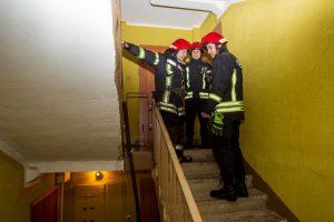 Panevėžio rajone užsiliepsnojo butas