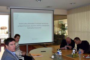Olimpinio festivalio dalyviams Turkija kelia grėsmę