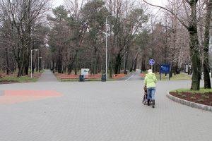 Klaipėdos poilsio parke pareigūnai nutvėrė iškrypėlį