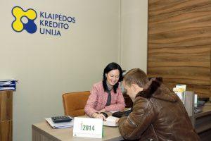 Kredito unijos per devynis mėnesius patyrė 2,5 mln. eurų nuostolių