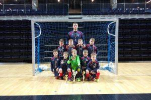 Jaunieji Klaipėdos futbolininkai iškovojo sidabro medalius