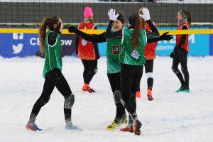 Pirmą kartą Lietuvoje vyks naujo formato sniego tinklinio turnyras