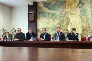 Diskusija universitete: Klaipėda privalo tapti sportininkų rengimo centru
