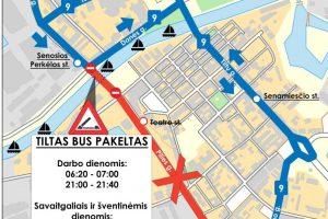 Klaipėdoje – pavasariniai autobusų maršrutų pokyčiai