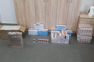 Plungiškis garaže slėpė kontrabandines cigaretes