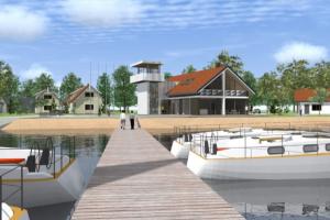 Pristatomi Preilos uosto projektiniai pasiūlymai
